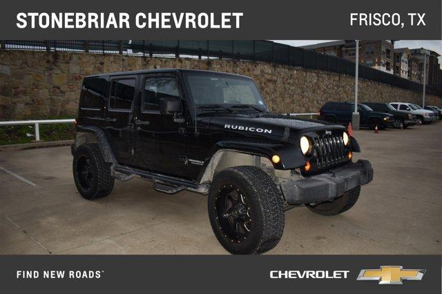 2013 Jeep Wrangler Unlimited 4WD 4dr Rubicon BLACK