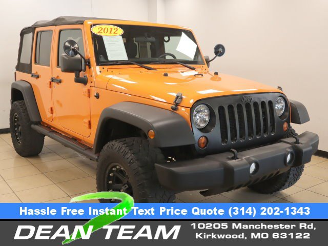 2012 Jeep Wrangler Unlimited 4WD 4dr Sport Crush