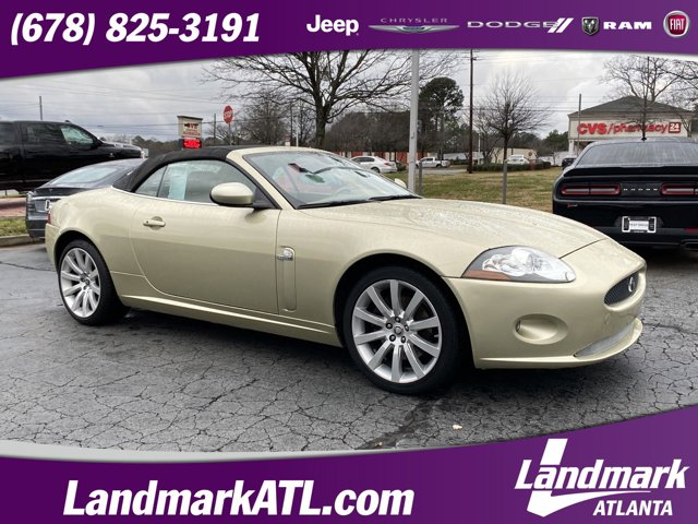 2008 Jaguar XK 2dr Conv BEIGE Bluetooth Connection