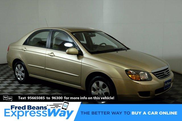 2009 Kia Spectra 4dr Sdn Auto EX CHAMPAGNE GOLD