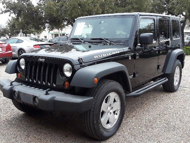 2009 Jeep Wrangler Unlimited 4WD 4dr Rubicon BLACK