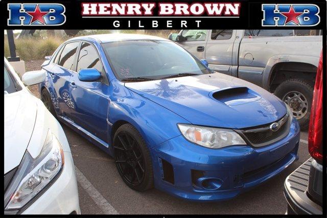2014 Subaru Impreza Sedan WRX 4dr Man WRX WR BLUE PEARL