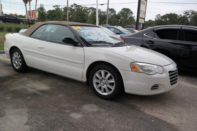 2004 Chrysler Sebring 2004 2dr Convertible GTC STONE WHITE