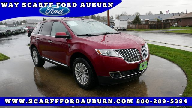 2013 Lincoln MKX AWD 4dr Brake assist