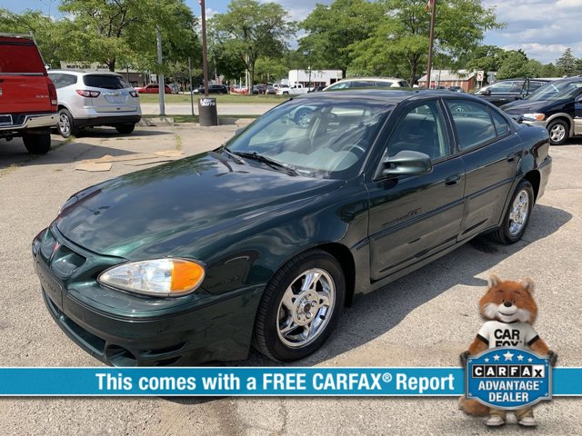 2002 Pontiac Grand Am 4dr Sdn GT POLO GREEN METALLIC