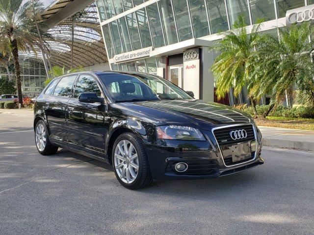 2013 Audi A3 4dr HB S tronic quattro 2.0T Premium Plus BLACK