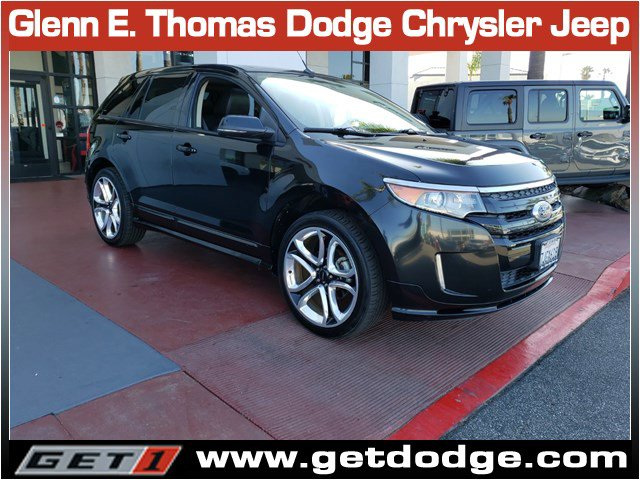 2013 Ford Edge 4dr Sport AWD BLACK Back-Up Camera