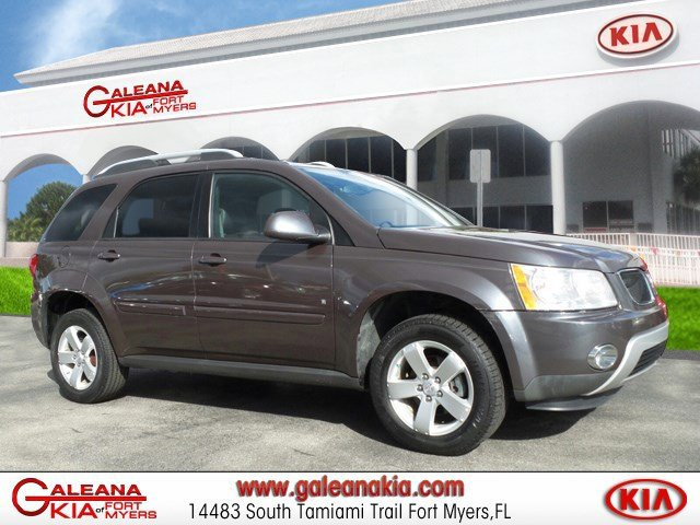2007 Pontiac Torrent AWD 4dr CD Player Bucket Seats