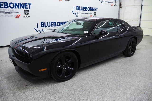 2014 Dodge Challenger 2dr Cpe R/T BLACK CLEARCOAT