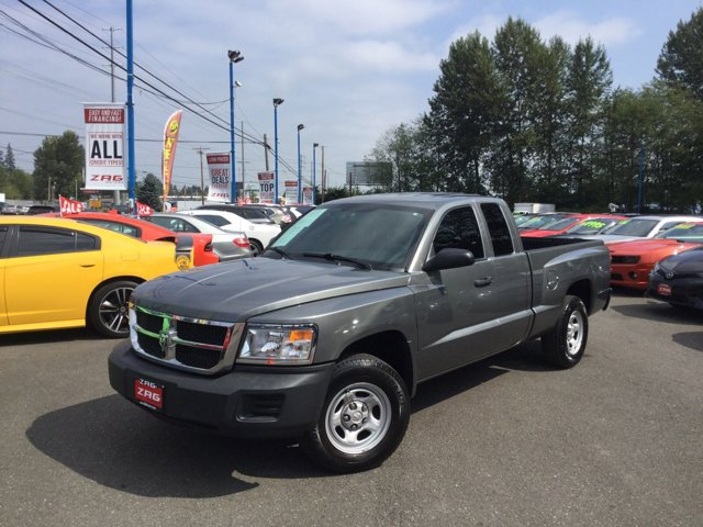 2009 Dodge Dakota 2WD Ext Cab ST MINERAL GRAY METALLIC