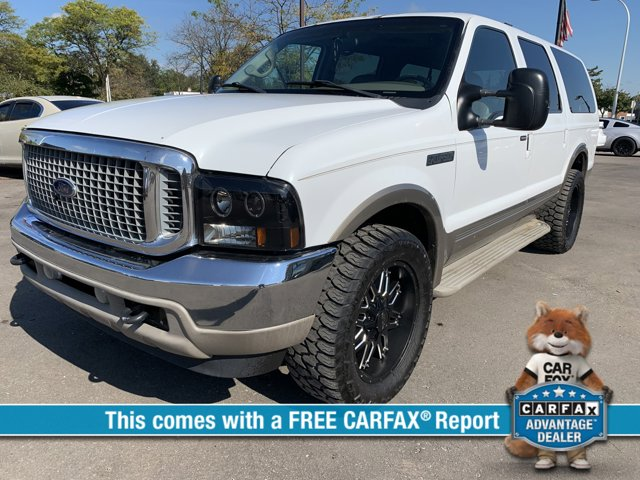 """2001 Ford Excursion 137"""" WB Limited 4WD OXFORD WHITE"""