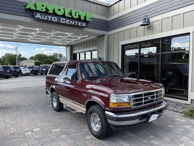 "1996 Ford Bronco 105"" WB Eddie Bauer TOREADOR RED (CC/MET)"