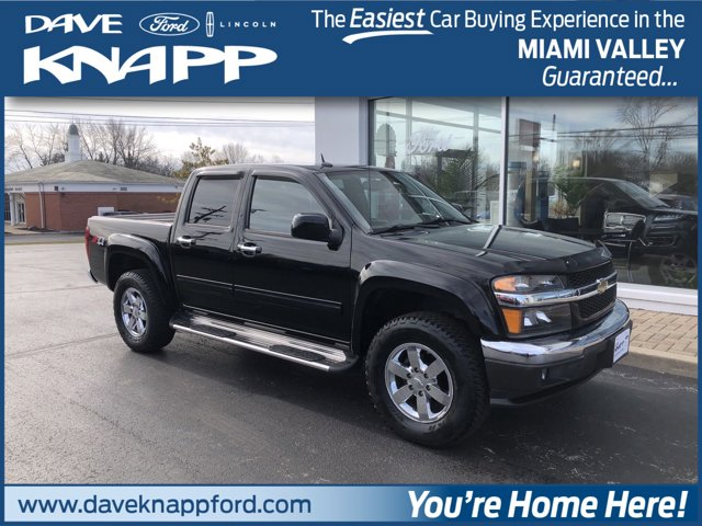2012 Chevrolet Colorado 4WD Crew Cab LT w/2LT BLACK