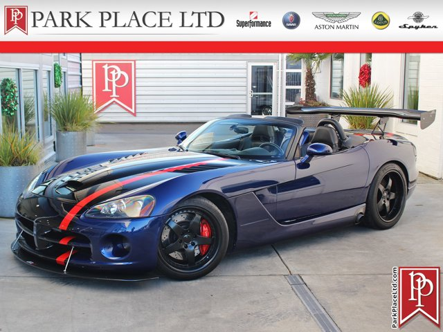 2005 Dodge Viper 2dr Convertible SRT10 BLUE Convertible Soft To
