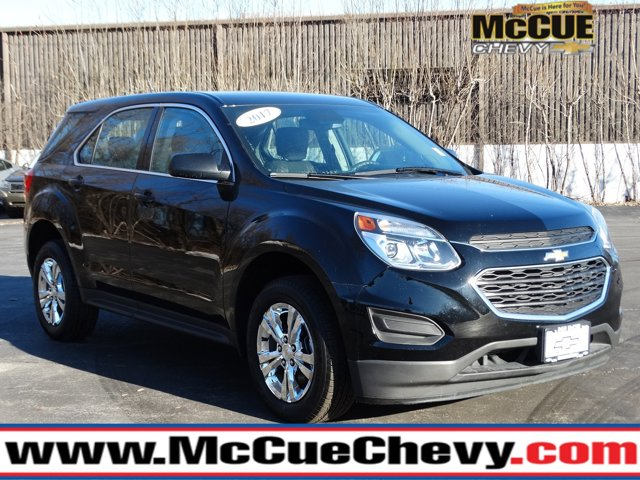2017 Chevrolet Equinox FWD 4dr LS BLACK Bucket Seats