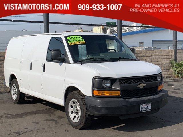 """2014 Chevrolet Express Cargo Van RWD 1500 135"""" SUMMIT WHITE"""