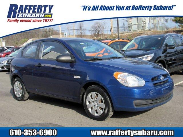 2009 Hyundai Accent 3dr HB Auto GS DARK SAPPHIRE BLUE