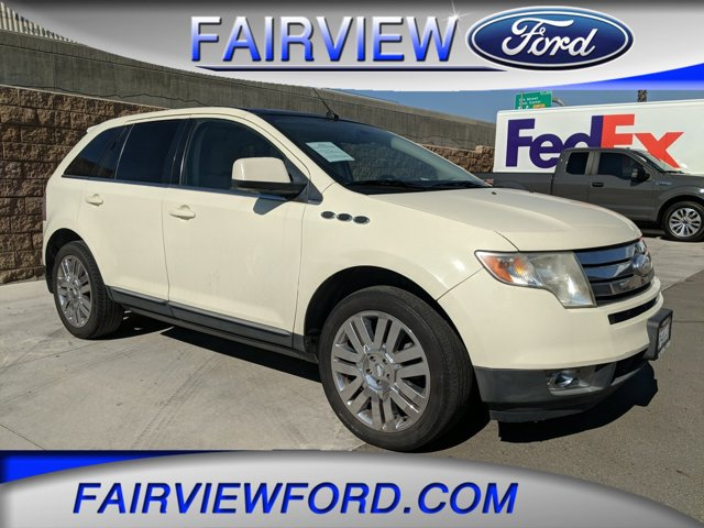 2008 Ford Edge 4dr Limited FWD WHITE SAND TRI-COAT