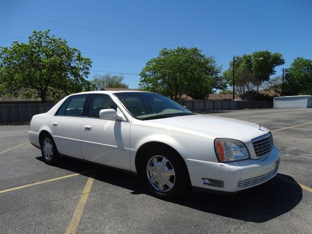 2005 Cadillac Deville 4dr Sdn GLACIER WHITE Cruise Control
