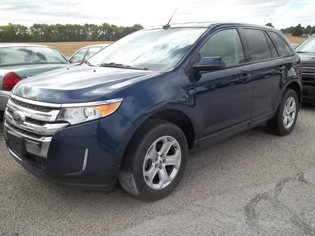 2012 Ford Edge 4dr SEL AWD DARK BLUE PEARL METALLIC