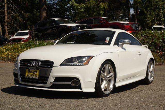 2013 Audi TTS 2dr Cpe S tronic quattro 2.0T Prestige WHITE