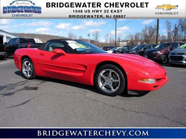 2001 Chevrolet Corvette 2dr Convertible TORCH RED