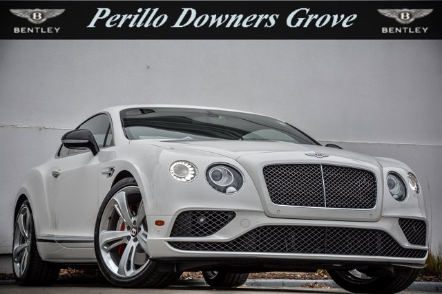 2017 Bentley Continental GT 2dr Cpe V8 S GLACIER WHITE