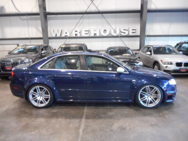 2008 Audi RS 4 4dr Sdn SPRINT BLUE PEARL CD Changer Bucket Seat