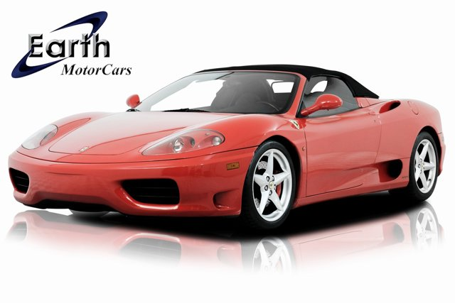 2002 Ferrari 360 2dr Convertible Spider RED CD player Cassette