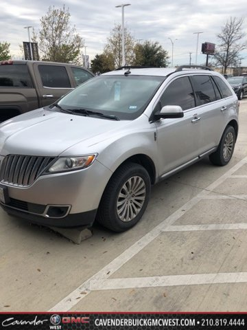 2013 Lincoln MKX FWD 4dr SILVER Bucket Seats