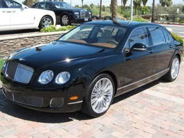 2013 Bentley Continental Flying Spur 4dr Sdn Speed Beluga Solid
