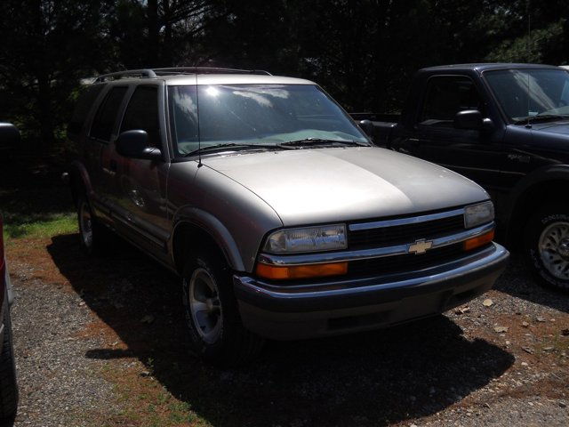 1998 Chevrolet Blazer 4dr LIGHT PEWTER (MET) Cassette