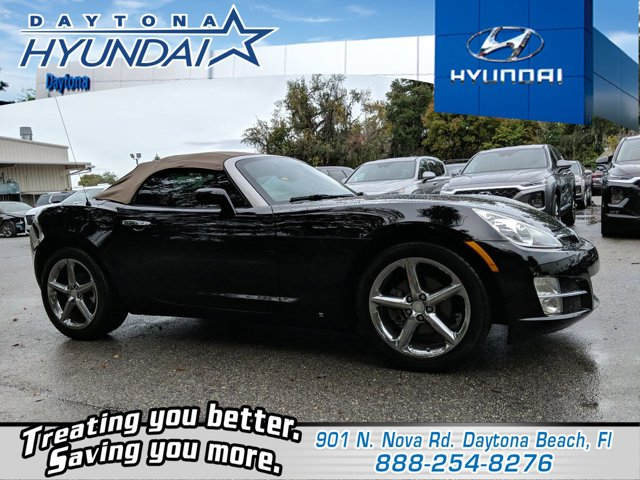 2008 Saturn Sky 2dr Conv BLACK ONYX CD Player Bucket Seats