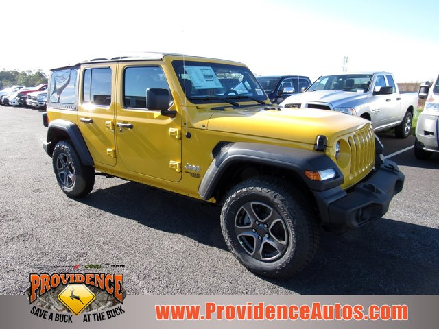 2018 Jeep Wrangler Unlimited Sport S 4x4 Hellayella Clearcoat