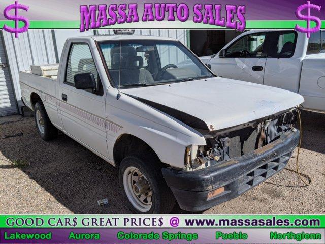 1994 Isuzu Pickup Std Bed S 2WD 5-Spd 2.3L WHITE