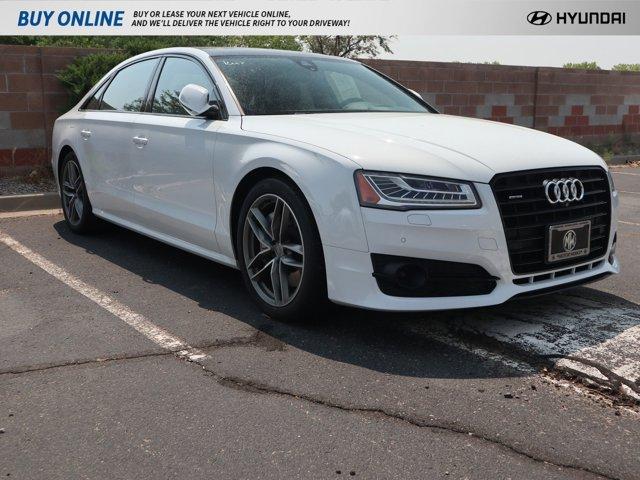2017 Audi A8 L 4.0 TFSI Sport Glacier White Metallic