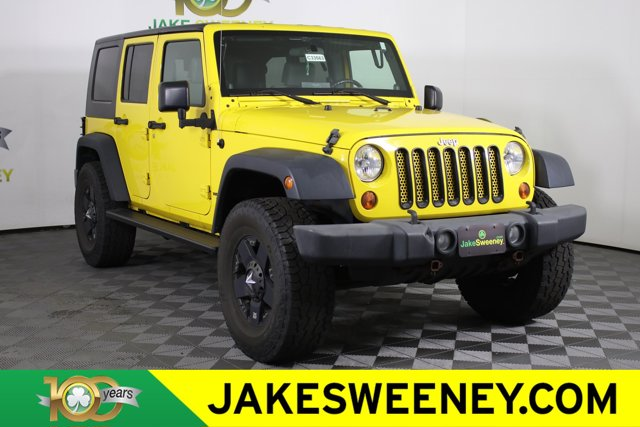 2009 Jeep Wrangler Unlimited 4WD 4dr X DETONATOR YELLOW