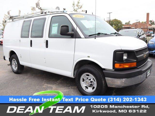 """2014 Chevrolet Express Cargo Van RWD 2500 135"""" SUMMIT WHITE"""