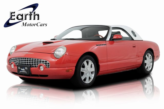 2002 Ford Thunderbird RED CD player Bumpers: body-color