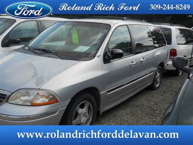 1999 Ford Windstar Wagon 3.8L SEL SILVER FROST METALLIC
