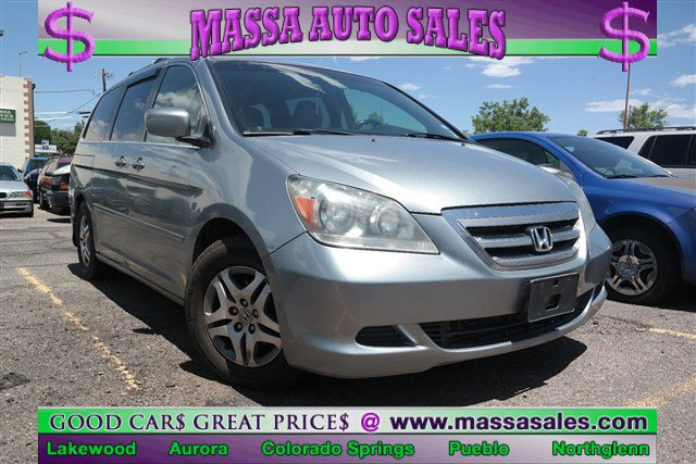 2007 Honda Odyssey 5dr EX-L w/RES GREEN CD Player CD Changer