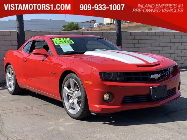 2010 Chevrolet Camaro 2dr Cpe 2SS VICTORY RED AXLE 3.45 RATIO