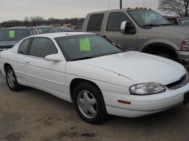 1999 Chevrolet Monte Carlo 2dr Cpe LS Engine Immobilizer