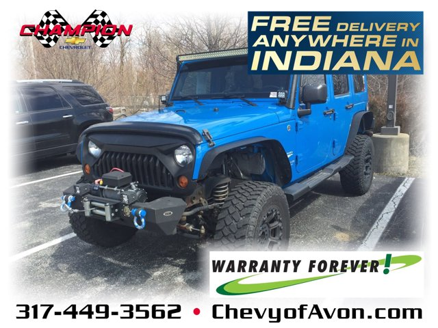 2011 Jeep Wrangler Unlimited 4WD 4dr Sahara COSMOS BLUE