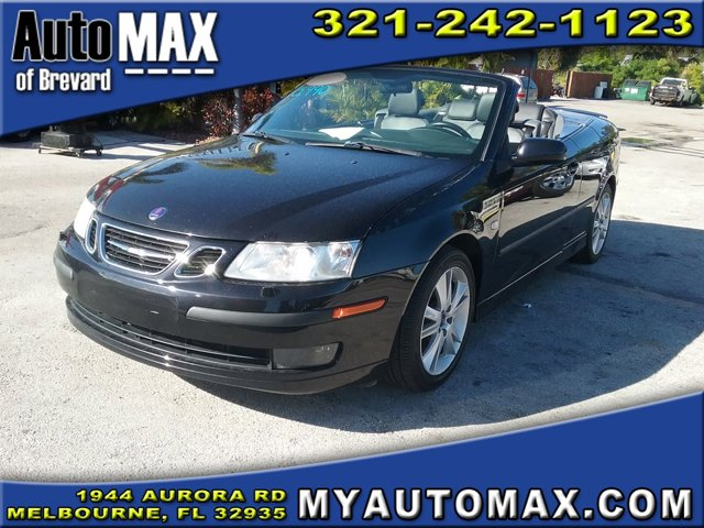 2007 Saab 9-3 2dr Conv Man BLACK Convertible Soft Top