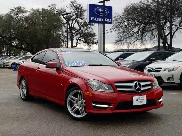 2012 Mercedes-Benz C-Class 2dr Cpe C250 RWD MARS RED