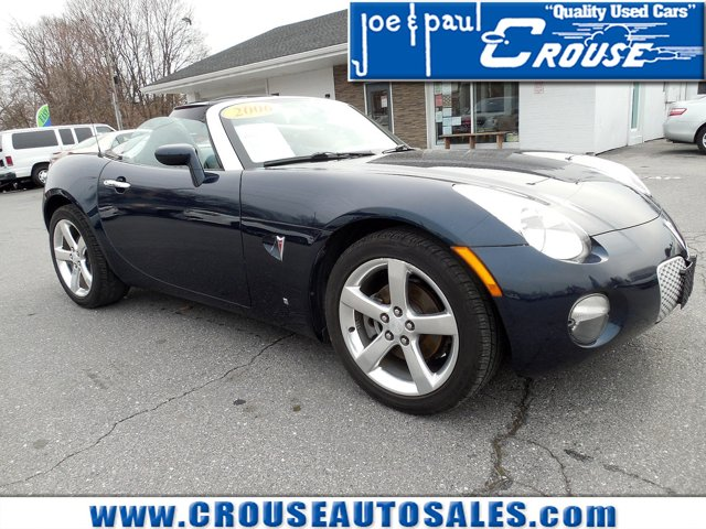 2006 Pontiac Solstice 2dr Convertible DEEP DARK BLUE METALLIC