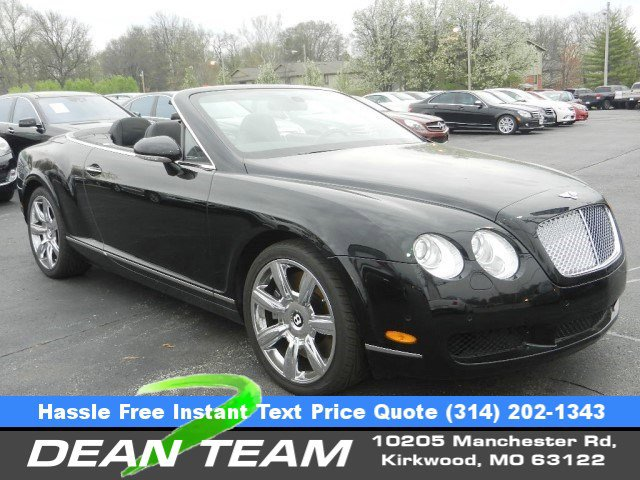 2007 Bentley Continental GT 2dr Conv BLACK CD Changer