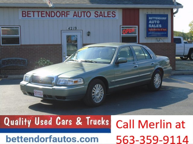2006 Mercury Grand Marquis 4dr Sdn LS Premium GRANITE GREEN
