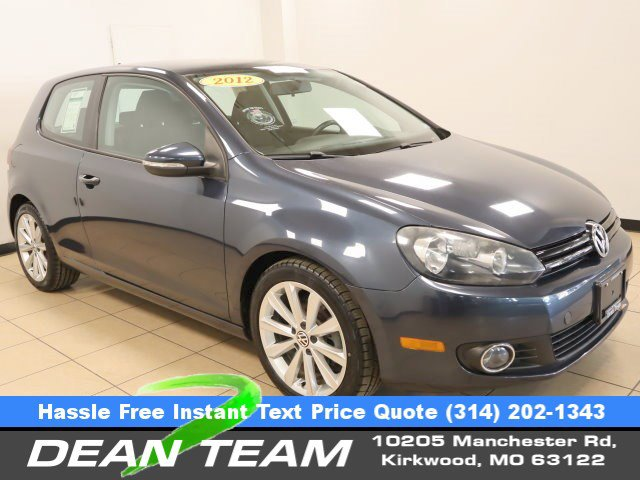 2012 Volkswagen Golf 2dr HB DSG TDI BLUE CD Player CD Changer
